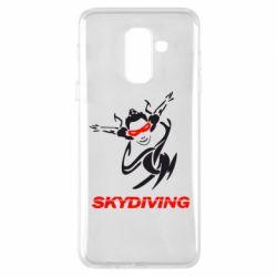 Чехол для Samsung A6+ 2018 Skidiving - FatLine