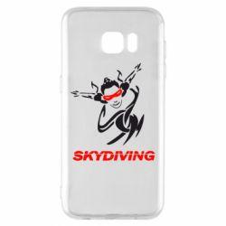 Чехол для Samsung S7 EDGE Skidiving - FatLine