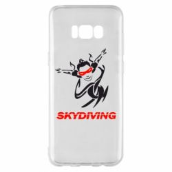 Чехол для Samsung S8+ Skidiving - FatLine