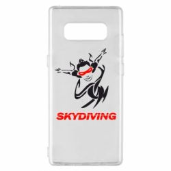 Чехол для Samsung Note 8 Skidiving - FatLine