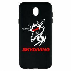 Чехол для Samsung J7 2017 Skidiving - FatLine