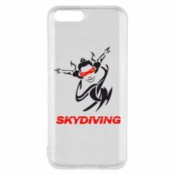 Чехол для Xiaomi Mi6 Skidiving - FatLine