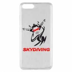 Чехол для Xiaomi Mi Note 3 Skidiving - FatLine