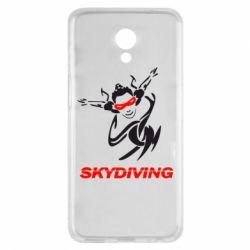 Чехол для Meizu M6s Skidiving - FatLine