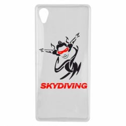 Чехол для Sony Xperia X Skidiving - FatLine
