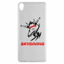Чехол для Sony Xperia XA Skidiving - FatLine