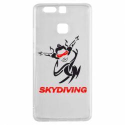 Чехол для Huawei P9 Skidiving - FatLine