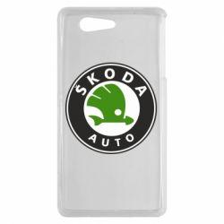 Чохол для Sony Xperia Z3 mini Skoda Auto - FatLine