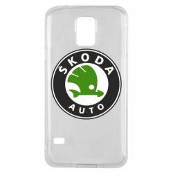 Чохол для Samsung S5 Skoda Auto
