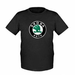 Детская футболка Skoda Auto