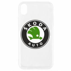 Чохол для iPhone XR Skoda Auto