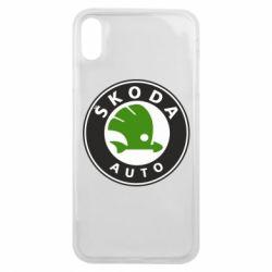 Чохол для iPhone Xs Max Skoda Auto