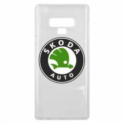 Чохол для Samsung Note 9 Skoda Auto