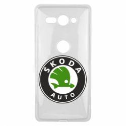 Чохол для Sony Xperia XZ2 Compact Skoda Auto - FatLine