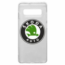 Чохол для Samsung S10+ Skoda Auto