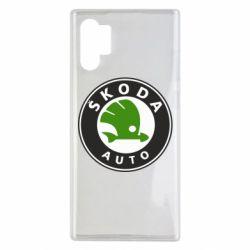 Чохол для Samsung Note 10 Plus Skoda Auto