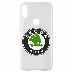 Чехол для Xiaomi Mi Play Skoda Auto