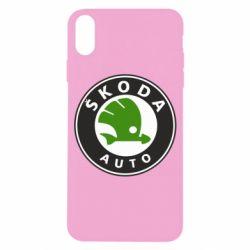 Чохол для iPhone X/Xs Skoda Auto