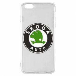 Чохол для iPhone 6 Plus/6S Plus Skoda Auto