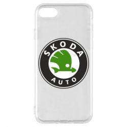 Чохол для iPhone 7 Skoda Auto
