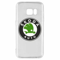 Чохол для Samsung S7 Skoda Auto