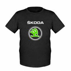 Женская футболка Skoda Bird