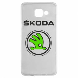Чехол для Samsung A5 2016 Skoda Bird