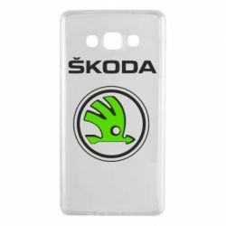 Чехол для Samsung A7 2015 Skoda Bird