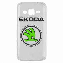 Чехол для Samsung J2 2015 Skoda Bird