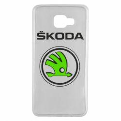Чехол для Samsung A7 2016 Skoda Bird