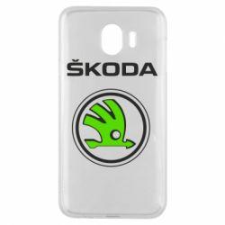 Чехол для Samsung J4 Skoda Bird