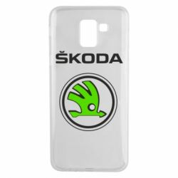 Чехол для Samsung J6 Skoda Bird