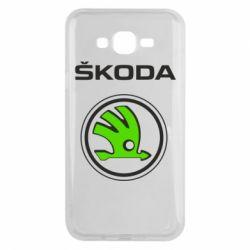 Чехол для Samsung J7 2015 Skoda Bird