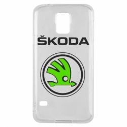 Чехол для Samsung S5 Skoda Bird