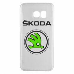 Чехол для Samsung S6 EDGE Skoda Bird