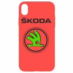 Чехол для iPhone XR Skoda Bird