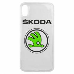 Чехол для iPhone Xs Max Skoda Bird