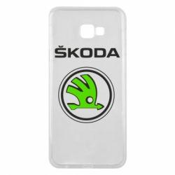 Чехол для Samsung J4 Plus 2018 Skoda Bird