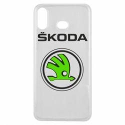 Чехол для Samsung A6s Skoda Bird
