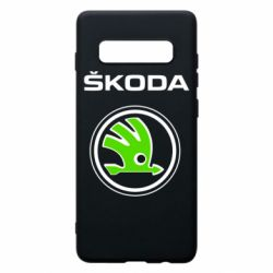 Чехол для Samsung S10+ Skoda Bird