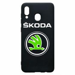 Чехол для Samsung A20 Skoda Bird