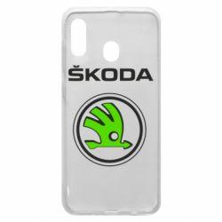 Чехол для Samsung A30 Skoda Bird