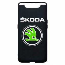 Чехол для Samsung A80 Skoda Bird