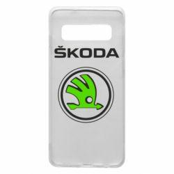 Чехол для Samsung S10 Skoda Bird