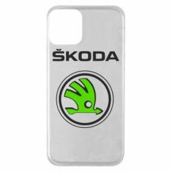 Чехол для iPhone 11 Skoda Bird