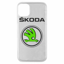 Чехол для iPhone 11 Pro Skoda Bird