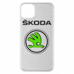Чехол для iPhone 11 Pro Max Skoda Bird