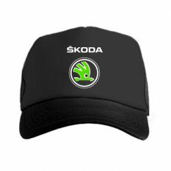 Кепка-тракер Skoda Bird