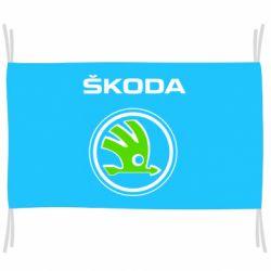 Флаг Skoda Bird