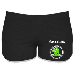 Женские шорты Skoda Bird